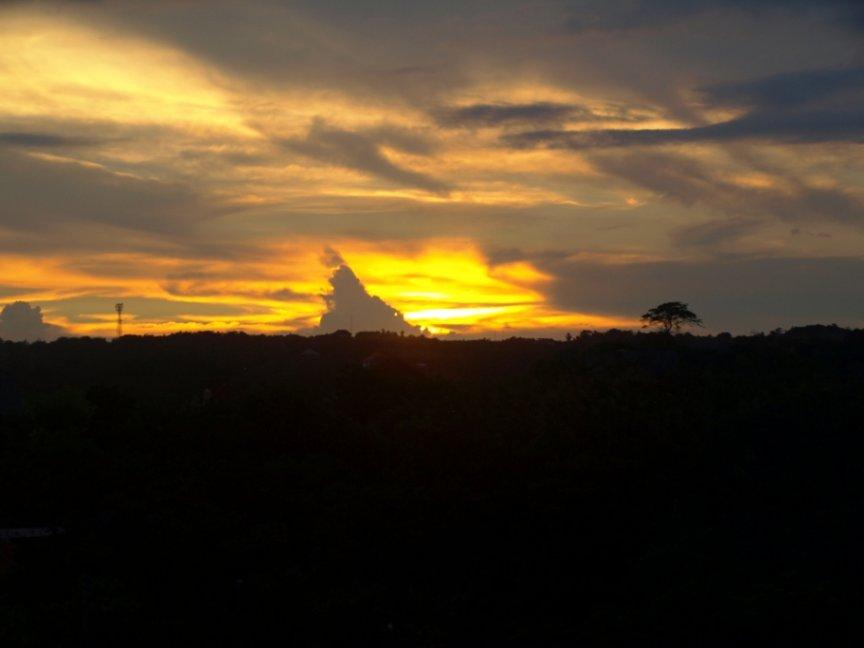 Sunset from LowerTerrace